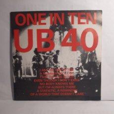 Discos de vinilo: UB 40*-ONE IN TEN. Lote 210398670