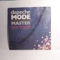 Discos de vinilo: DEPECHE MODE-MASTER AND SERVANT. Lote 210399803