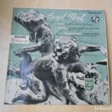 Discos de vinilo: ORQUESTA BOYD NEEL, EP, J.S.BACH - ARIA DE LA SUITE EN RE MAYOR + 2, AÑO 1958. Lote 210406698