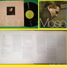 Discos de vinilo: MOSE ALLISON !! 2LP, 1957 RARA ORG EDIT USA PRESTIGE 1972, VINILOS EXC !!!!!!!. Lote 210408165