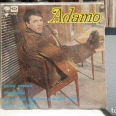 Discos de vinilo: ** ADAMO - NOTRE ROMAN / ON SE BAT TOUJOURS QULQUE PART + 2 - EP AÑO 1967 - LEER DESCRIPCIÓN. Lote 210408892