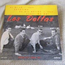"""Dischi in vinile: LOS DELTAS EDICIÓN PORTUGUESA - SAN REMO 1961 - AL DI LÁ - 24 MIL BEJOS 7"""" EP. Lote 210410578"""