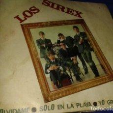 Discos de vinilo: LOS SIREX OLVIDAME SOLA EN LA PLAYA YO GRITO REPRISE. Lote 210416131