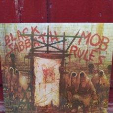 Discos de vinilo: BLACK SABBATH - MOB RULES - LP VINILO PERFECTO ESTADO. EDICIÓN SPAIN 1981. Lote 210418063
