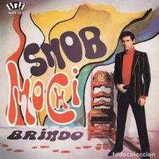 Discos de vinilo: SINGLE MOCHI - SNOB / VINILO / DISCOS MADMUA - MADMUA RECORDS / ED LIMITADA Y NUMERADA 2020 / NUEVO. Lote 210423841
