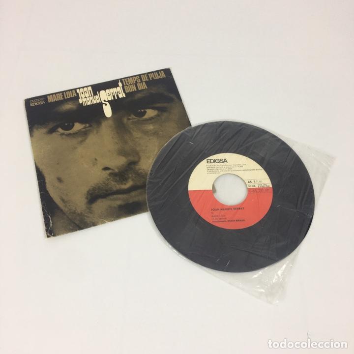 """Discos de vinilo: EP 7"""" - JOAN MANUEL SERRAT - Mare Lola (Edigsa, 1969) - Foto 3 - 210428181"""