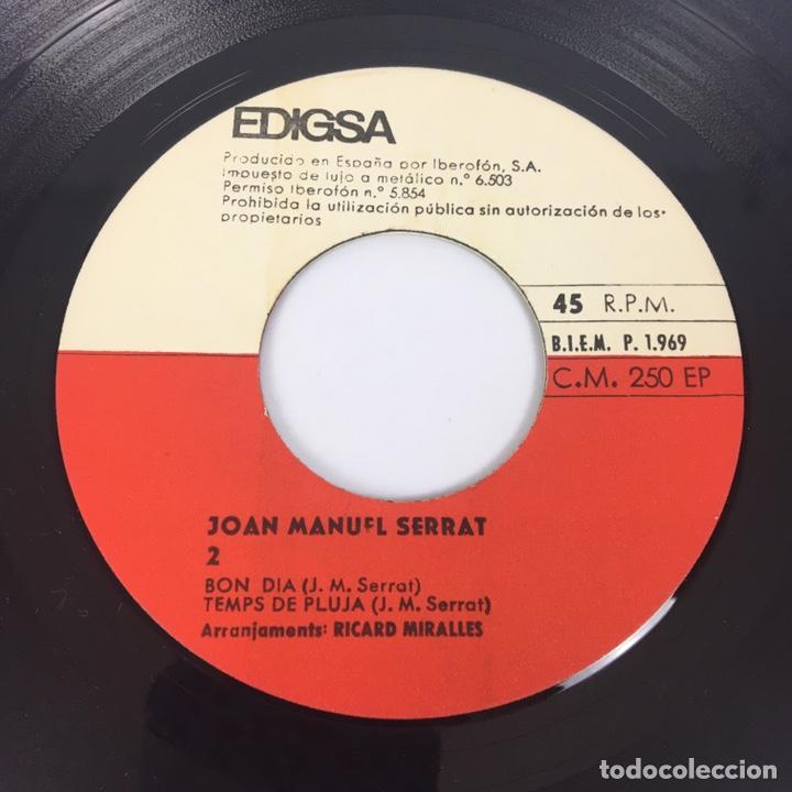 """Discos de vinilo: EP 7"""" - JOAN MANUEL SERRAT - Mare Lola (Edigsa, 1969) - Foto 7 - 210428181"""