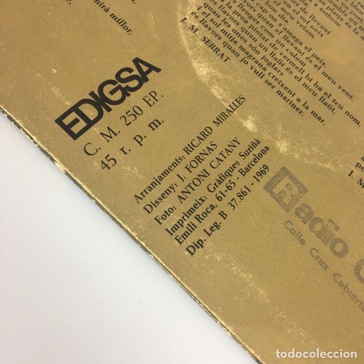 """Discos de vinilo: EP 7"""" - JOAN MANUEL SERRAT - Mare Lola (Edigsa, 1969) - Foto 9 - 210428181"""