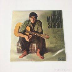 """Discos de vinilo: EP 7"""" - JOAN MANUEL SERRAT - CANÇÓ DE MATINADA (EDIGSA, 1966). Lote 210428366"""