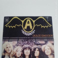 Discos de vinilo: AEROSMITH DULCE EMOCION SWEET EMOTION / UNCLE SALTY ( 1976 CBS ESPAÑA ). Lote 210430303