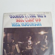 Dischi in vinile: BOOKER T & THE MG'S MRS ROBINSON / SOUL CLAP 69 ( 1969 STAX ESPAÑA ). Lote 210430378
