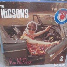 Discos de vinilo: THE HIGSONS ?– RUN ME DOWN - MAXI 1983. Lote 210434420