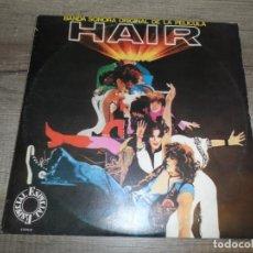 Discos de vinilo: HAIR - BANDA SONORA ORIGINAL DE LA PELÍCULA (2LPS) (SPAIN 1979). Lote 210436030
