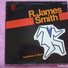 Discos de vinilo: REV.JAMES SMITH,GOODNESS OF JESUS PROMO DEL 85. Lote 210436117