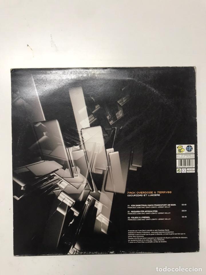 Discos de vinilo: Lote de 10 vinilos electrónica / hardtek - Foto 3 - 210438442