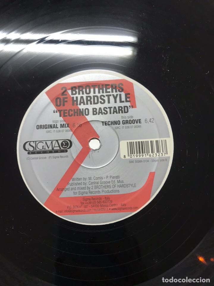 Discos de vinilo: Lote de 10 vinilos electrónica / hardtek - Foto 21 - 210438442