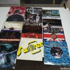 Discos de vinilo: LOTE DE 13 VINILOS DE HARDCORE ,HARDTEK Y OTROS ESTILOS. Lote 210438466