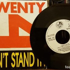 Disques de vinyle: TWENTY SEVEN 4 I CAN´T STAND IT !. Lote 210440423