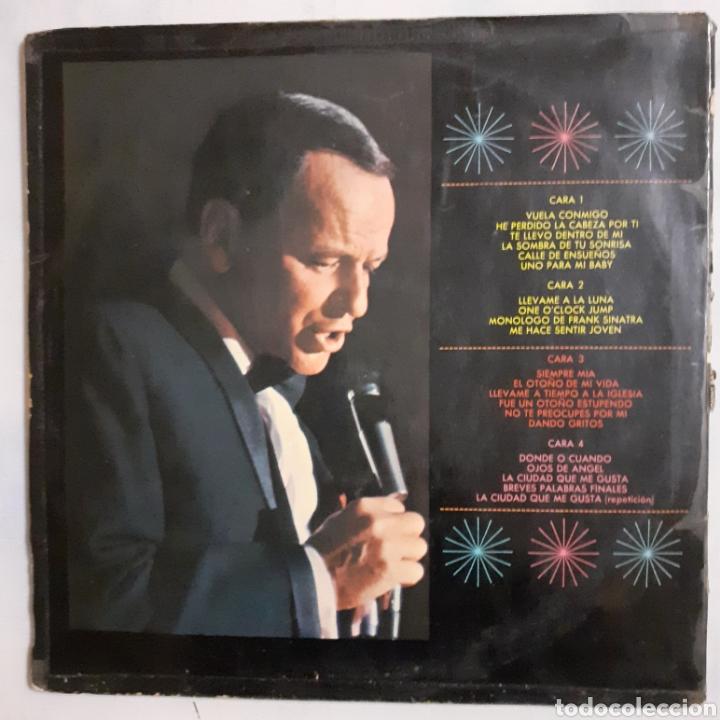 Discos de vinilo: Sinatra en el Sands. 2LP. Gatefold. 1966 España. 2FS 1019. Discos VG+. VG+. Carátula muy defectuosa. - Foto 2 - 210442566