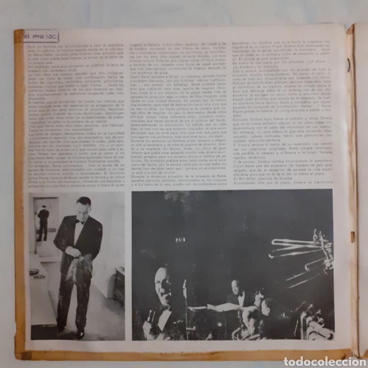 Discos de vinilo: Sinatra en el Sands. 2LP. Gatefold. 1966 España. 2FS 1019. Discos VG+. VG+. Carátula muy defectuosa. - Foto 3 - 210442566