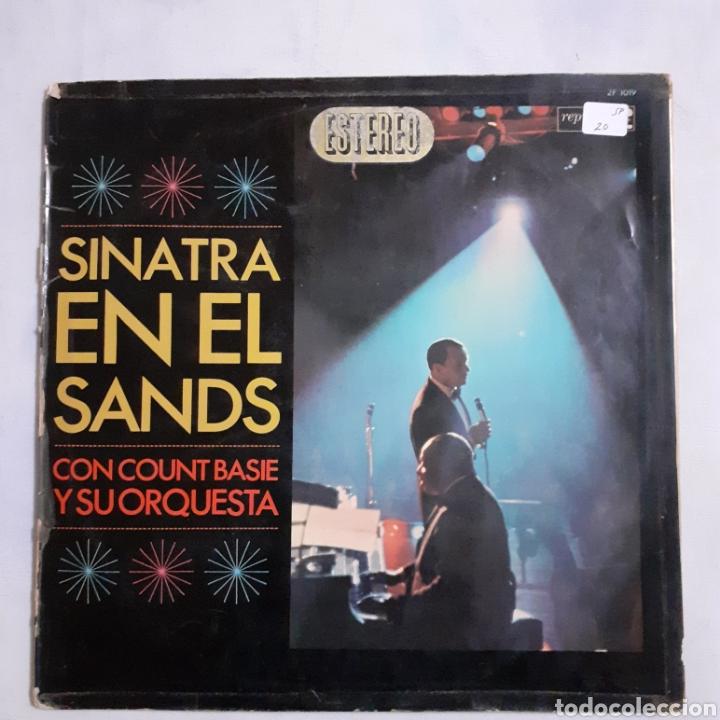 SINATRA EN EL SANDS. 2LP. GATEFOLD. 1966 ESPAÑA. 2FS 1019. DISCOS VG+. VG+. CARÁTULA MUY DEFECTUOSA. (Música - Discos - LP Vinilo - Pop - Rock Extranjero de los 50 y 60)