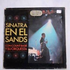 Discos de vinilo: SINATRA EN EL SANDS. 2LP. GATEFOLD. 1966 ESPAÑA. 2FS 1019. DISCOS VG+. VG+. CARÁTULA MUY DEFECTUOSA.. Lote 210442566