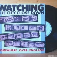 Discos de vinilo: 12 MAXI , SOMEWHERE OVER ENGLAND , WATCHING CLOSE , PROMO. Lote 210444323