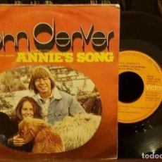 Disques de vinyle: JOHN DENVER - ANNIE´S SONG. Lote 210444768