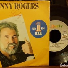 Discos de vinilo: KENNY ROGERS - LADY. Lote 210444826