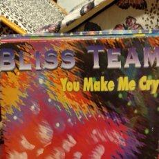 Discos de vinilo: BLISS TEAM. Lote 210445048