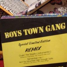 Discos de vinilo: BOYS TOWN GANG. Lote 210445305