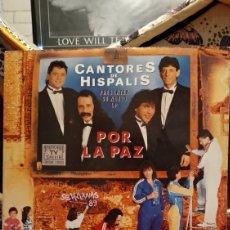 Discos de vinilo: CANTORES DE HISPALIS,POR LA PAZ 2 LPS. Lote 210448371