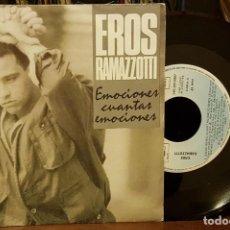 Discos de vinilo: EROS RAMAZZOTTI - EMOCIONES CUANTAS EMOCIONES. Lote 210449033