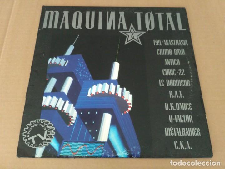 MAQUINA TOTAL 2 (Música - Discos - LP Vinilo - Techno, Trance y House)