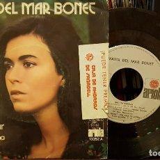 Discos de vinilo: MARIA DEL MAR BONET - VIGILA EL MAR. Lote 210457297