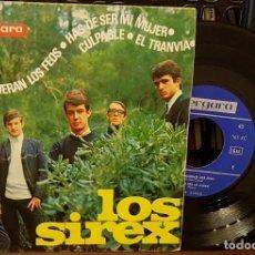 Discos de vinilo: LOS SIREX - QUE SE MUERAN LOS FEOS - EP. Lote 210457605