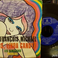 Discos de vinilo: JEAN - FRANÇOIS MICHAEL - ADIOS LINDA CANDY. Lote 210458227