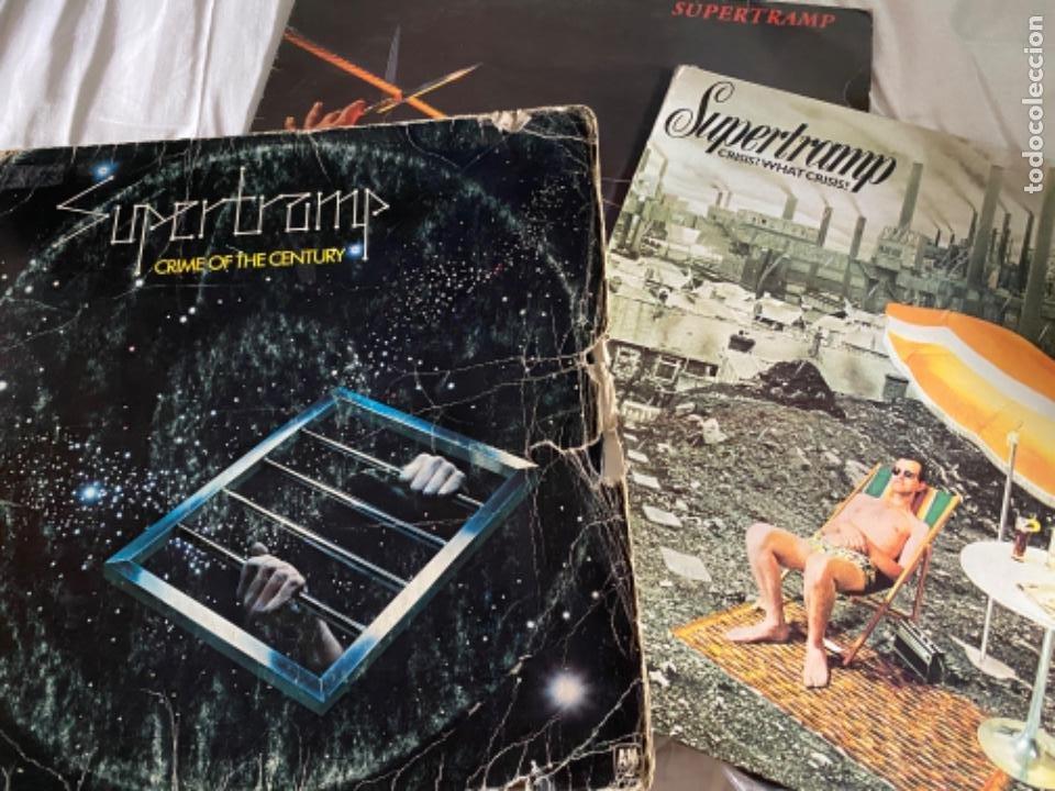 LOTE LP ANTIGUOS SUPERTRAMP CRISIS? CRIME CENTURY FAMOUS LAST WORDS (Música - Discos - LP Vinilo - Pop - Rock Extranjero de los 90 a la actualidad)