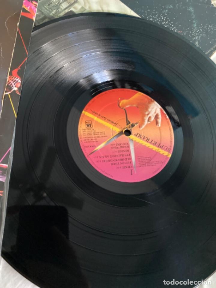 Discos de vinilo: LOTE LP ANTIGUOS SUPERTRAMP CRISIS? CRIME CENTURY FAMOUS LAST WORDS - Foto 5 - 210461750