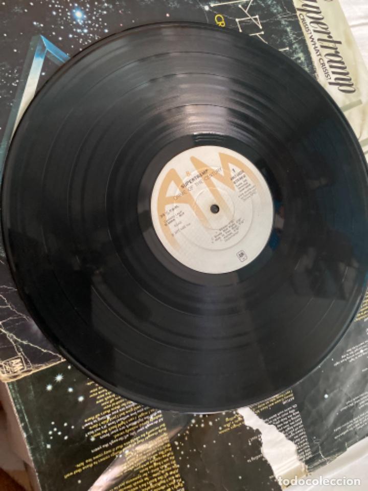Discos de vinilo: LOTE LP ANTIGUOS SUPERTRAMP CRISIS? CRIME CENTURY FAMOUS LAST WORDS - Foto 7 - 210461750