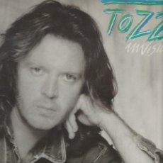 Discos de vinilo: LP UMBERTO TOZZI INVISIBILE MADE IN GERMANY INCLUDED GENTE DI MARE CON RAFF 1987 CGD GEMA. Lote 210463303