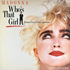 Discos de vinilo: MADONNA - WHO'S THAT GIRL - LP BANDA SONORA SPAIN 1987. Lote 210463762