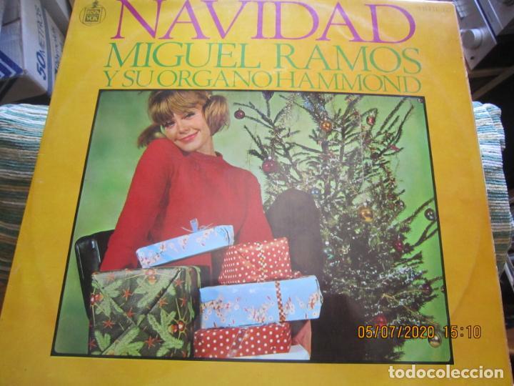 Discos de vinilo: MIGUEL RAMOS Y SU ORGANO HAMMOND - NAVIDAD LP - ESPAÑA - HISPAVOX 1967 STEREO - Foto 6 - 210465935