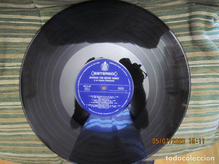 Discos de vinilo: MIGUEL RAMOS Y SU ORGANO HAMMOND - NAVIDAD LP - ESPAÑA - HISPAVOX 1967 STEREO - Foto 10 - 210465935