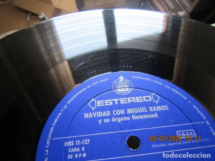 Discos de vinilo: MIGUEL RAMOS Y SU ORGANO HAMMOND - NAVIDAD LP - ESPAÑA - HISPAVOX 1967 STEREO - Foto 13 - 210465935