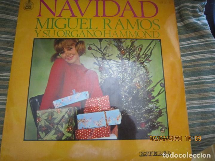 Discos de vinilo: MIGUEL RAMOS Y SU ORGANO HAMMOND - NAVIDAD LP - ESPAÑA - HISPAVOX 1967 STEREO - Foto 15 - 210465935