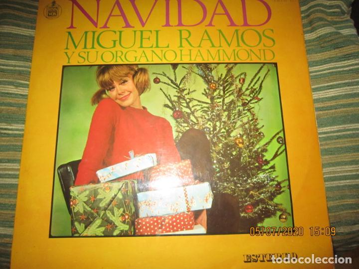 MIGUEL RAMOS Y SU ORGANO HAMMOND - NAVIDAD LP - ESPAÑA - HISPAVOX 1967 STEREO (Música - Discos - LP Vinilo - Orquestas)