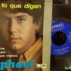 Discos de vinilo: DIGAN LO QUE DIGAN - RAPHAEL - EP. Lote 210467961