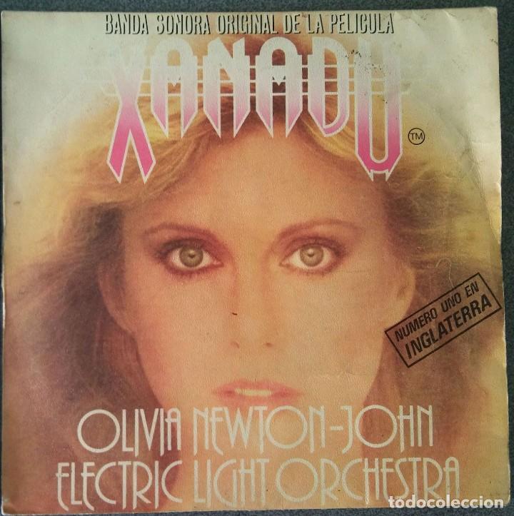 VINILO EP XANADU OLIVIA NEWTON JOHN (Música - Discos de Vinilo - EPs - Bandas Sonoras y Actores)