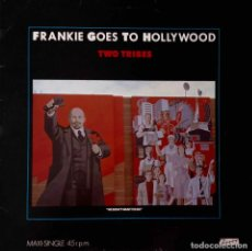 Discos de vinilo: FRANKIE GOES TO HOLLYWOOD. TWO TRIBES. MAXI SINGLE ESPAÑA 4 CANCIONES. Lote 210471447